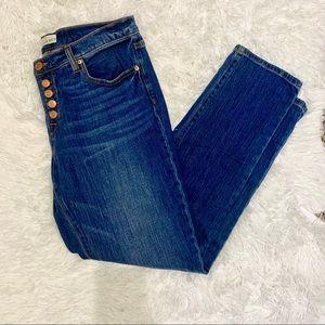 Loft Button Fly Jeans Size 29/8